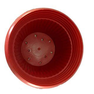 Maceta-Roja–con-plato-#-34_1