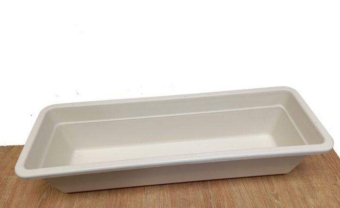 maceteros rectangulares de plastico