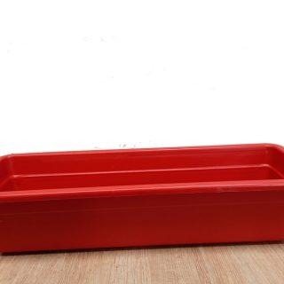 Jardinera-Plastica-grande-Roja-x-60-cm