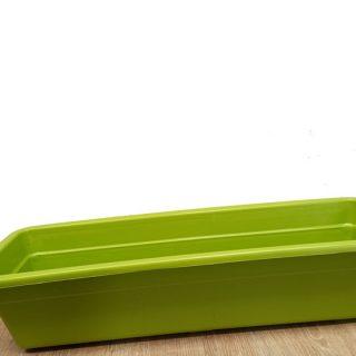 Jardinera-Plastica-grande-Verde-Clarox-60-cm